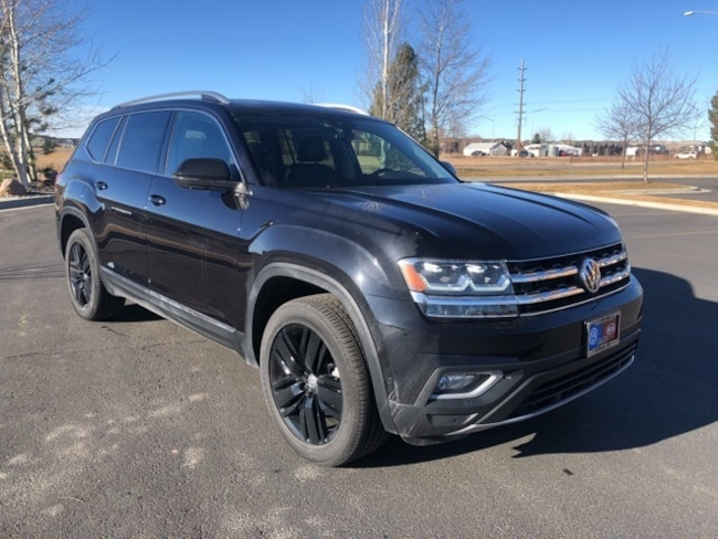 New 2019 Volkswagen Atlas SEL Premium SUV in Billings, MT