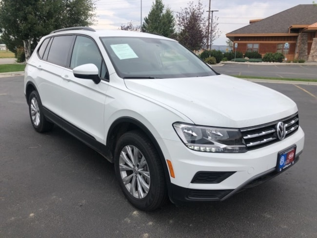 New 2018 Volkswagen Tiguan S SUV in Billings, MT