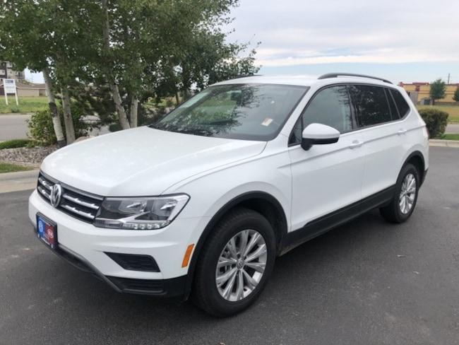 New 2018 Volkswagen Tiguan S SUV in Billings, MT