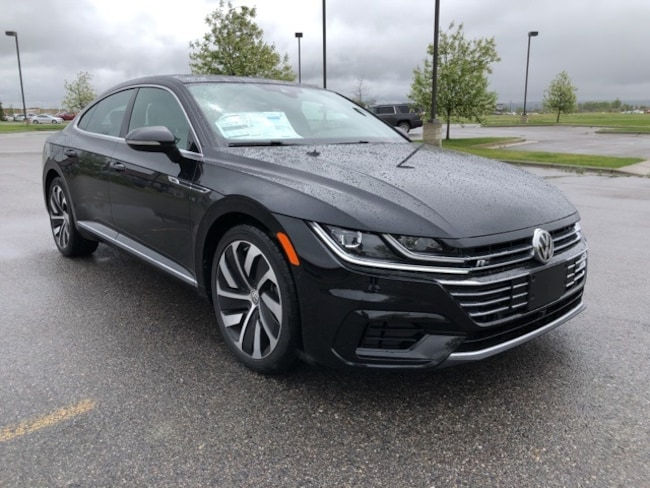 New 2019 Volkswagen Arteon 2.0T SEL Premium R-Line Sedan in Billings, MT