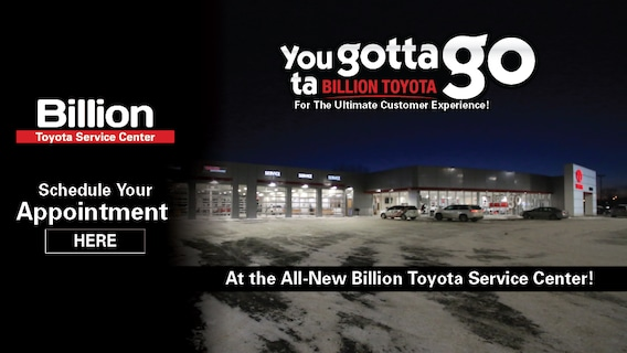 Billion Toyota | New Toyota dealership in Sioux Falls, SD