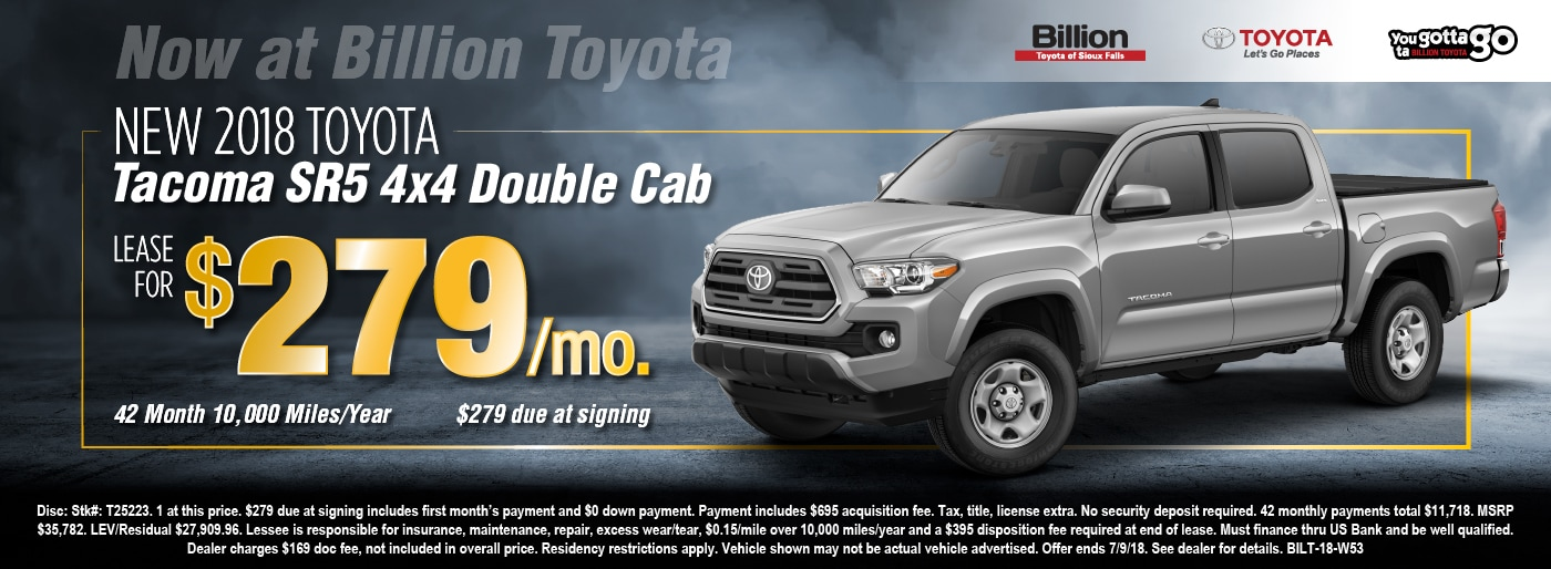 Billion Auto Sioux Falls >> Billion Toyota | New Toyota dealership in Sioux Falls, SD ...