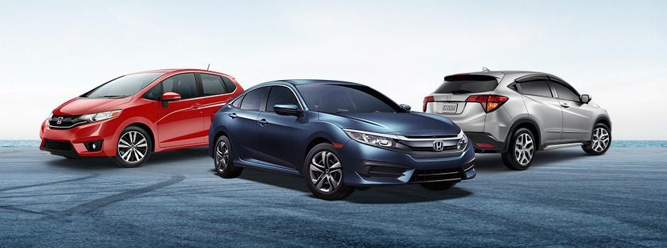The Honda Model Lineup
