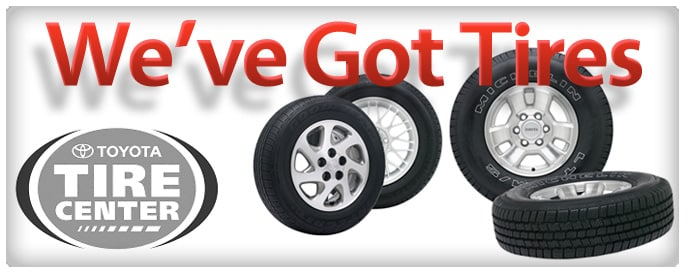 Toyota Tire Deals >> Baltimore Tire Center New Tires Maintenance At Bill Kidd S Toyota