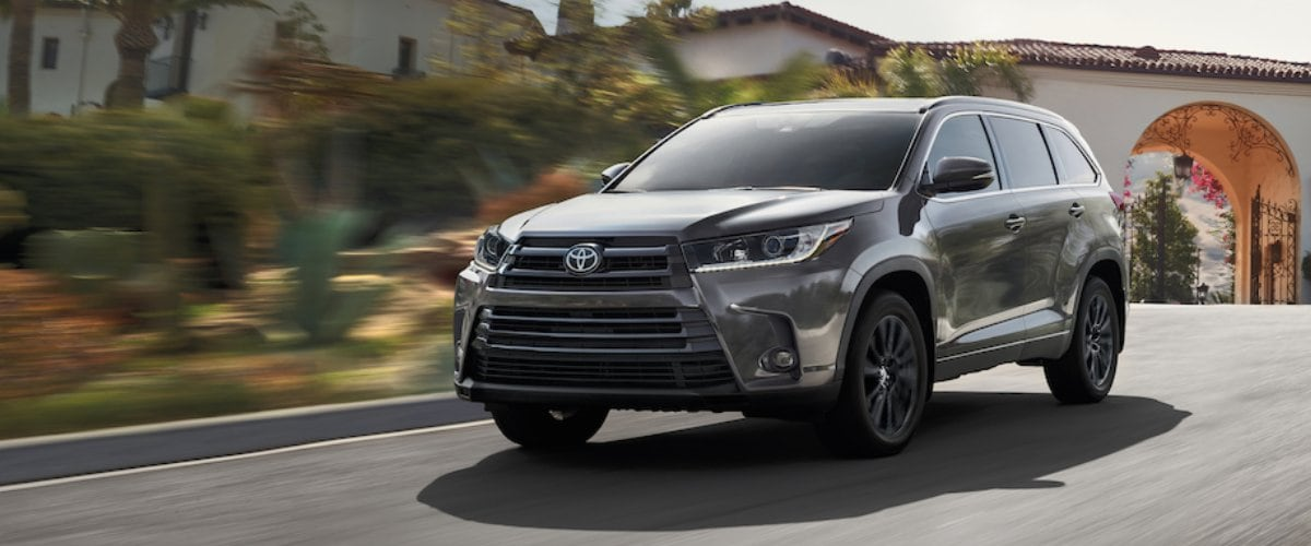 New Toyota Highlander SUV Baltimore MD