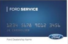 The Ford Service Credit Card