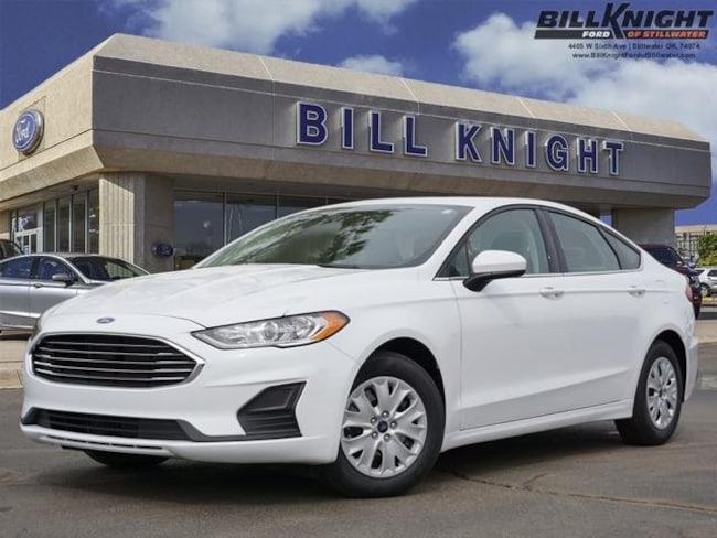 New 2019 Ford Fusion S S FWD for sale in Stillwater, OK