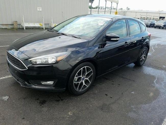 Used 2017 Ford Focus SEL Hatchback for sale in Stillwater, OK
