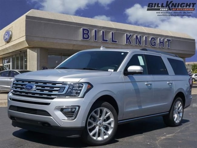 New 2019 Ford Expedition Max Limited SUV for sale in Stillwater, OK