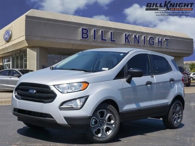 New 2019 Ford EcoSport S SUV for sale in Stillwater, OK