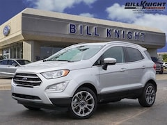 New 2019 Ford EcoSport Titanium SUV for sale in Stillwater, OK