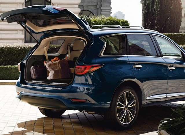 QX60 Has Less Utility