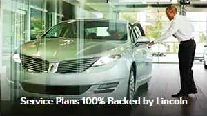 Service Plans 100% Backed by Lincoln