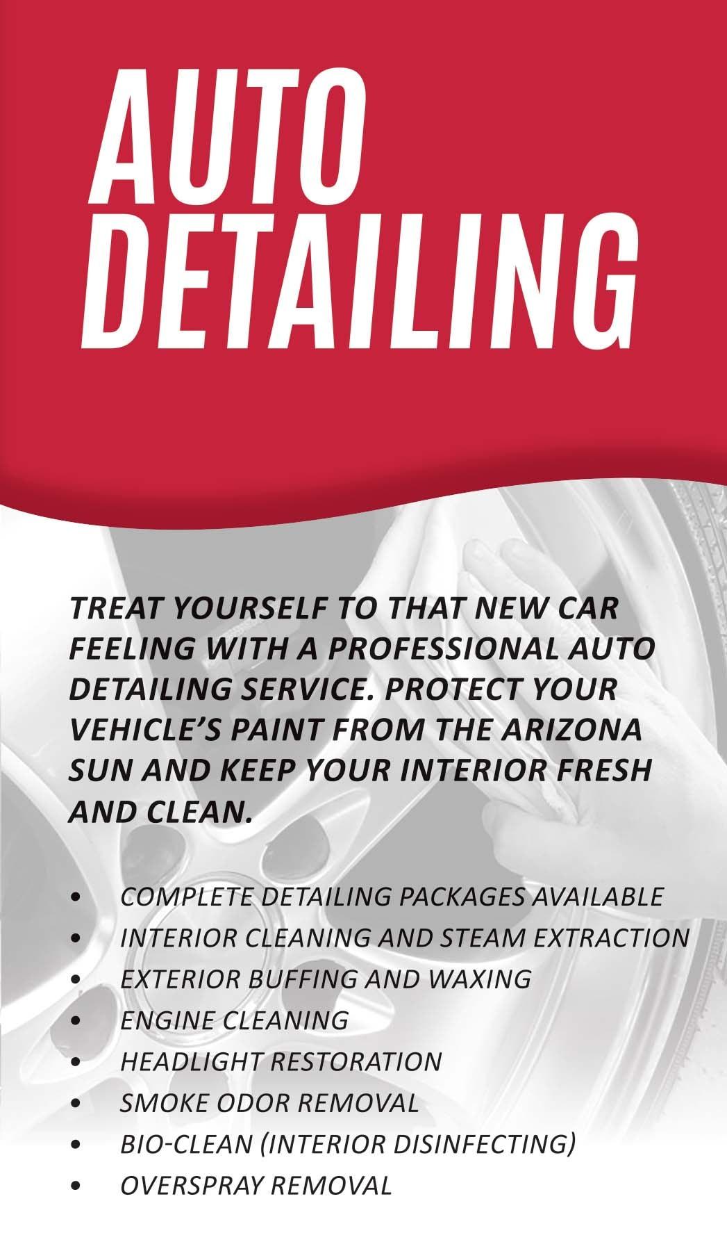 Bill luke tempe new fiat alfa romeo dealership in tempe - Vehicle interior cleaning service ...