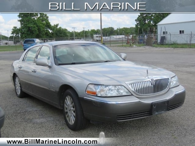 Used 2003 Lincoln Town Car For Sale At Bill Marine Lincoln Vin
