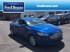 Certified Pre-Owned 2017 Ford Fusion SE SEDAN N90008D1 in Newtown, PA