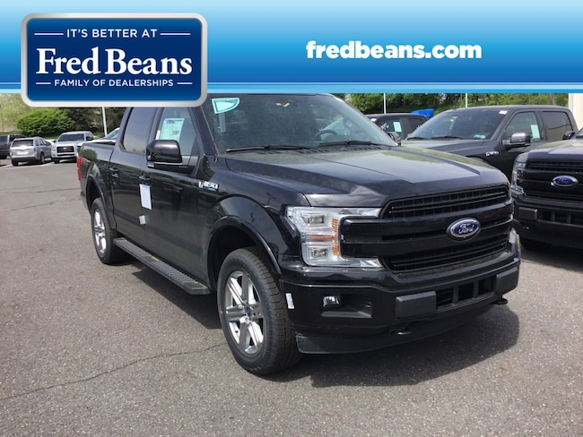 New 2019 Ford F-150 LARIAT Truck SuperCrew Cab For Sale in Newtown, PA