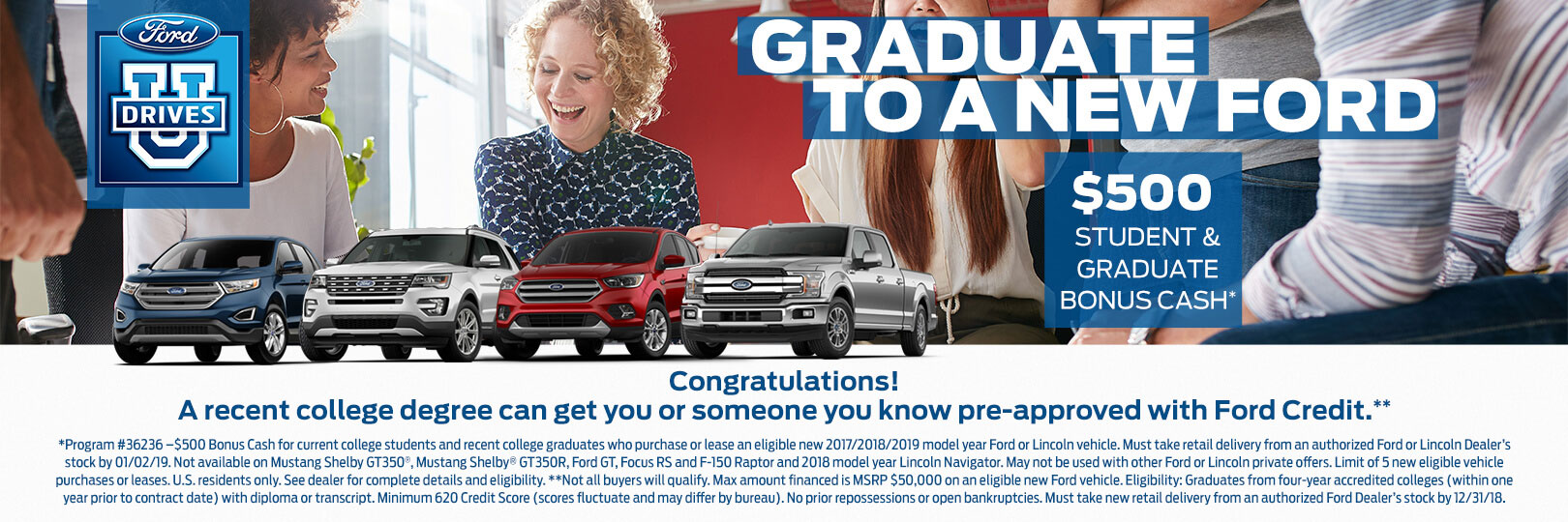 Fred Beans Ford West Chester >> Graduate To A New Ford At Fred Beans Ford Of West Chester