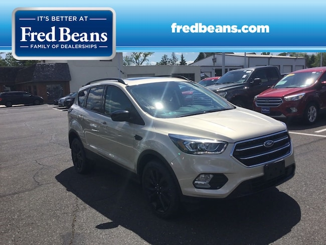 Certified Pre-Owned 2017 Ford Escape SE SUV For Sale in Newtown, PA