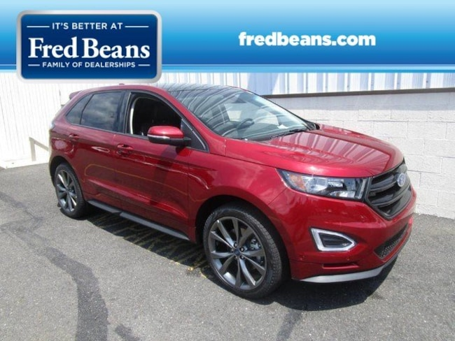 New 2018 Ford Edge Sport SUV For Sale in Newtown, PA