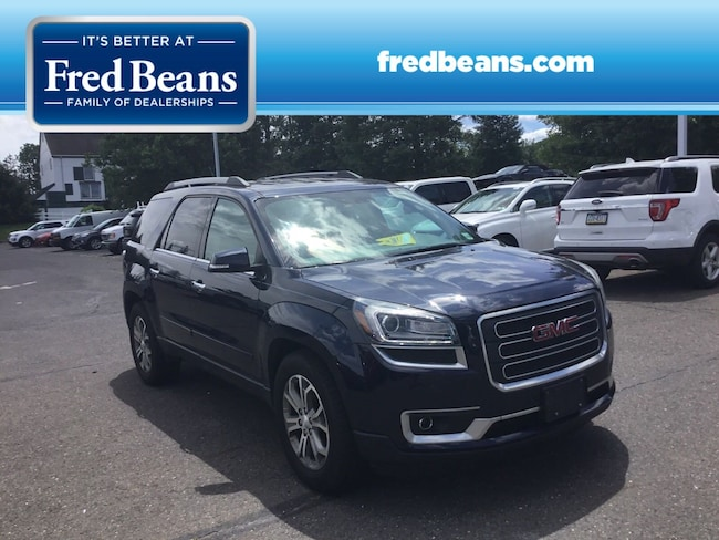 Used 2015 GMC Acadia SLT SUV For Sale in Newtown, PA