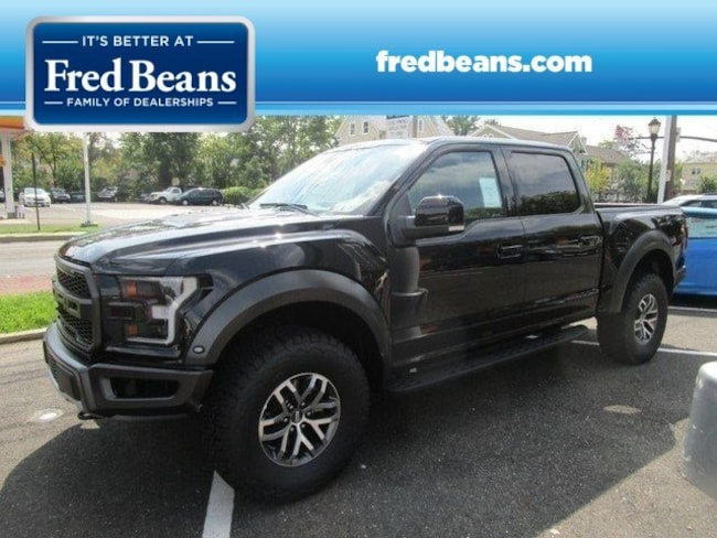 New 2018 Ford F-150 Raptor Truck SuperCrew Cab For Sale in Newtown, PA