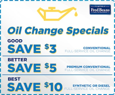 September Oil Change Special