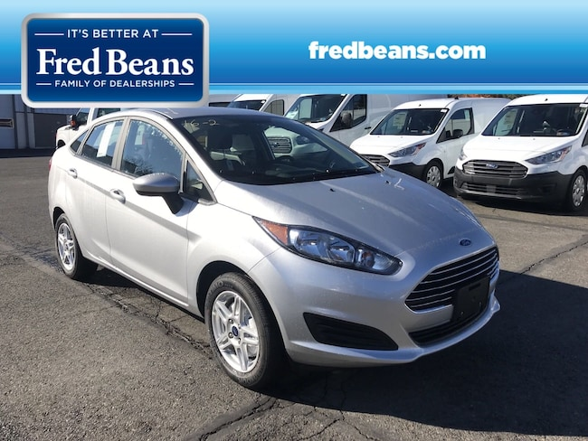 New 2018 Ford Fiesta SE Sedan For Sale in Newtown, PA