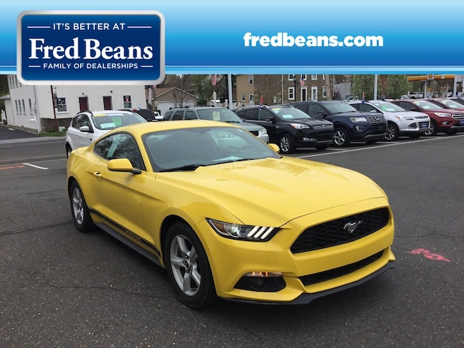Certified Pre-Owned 2015 Ford Mustang EcoBoost COUPE For Sale in Newtown, PA