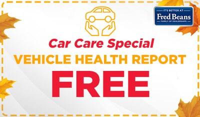 FREE Vehicle Health Report