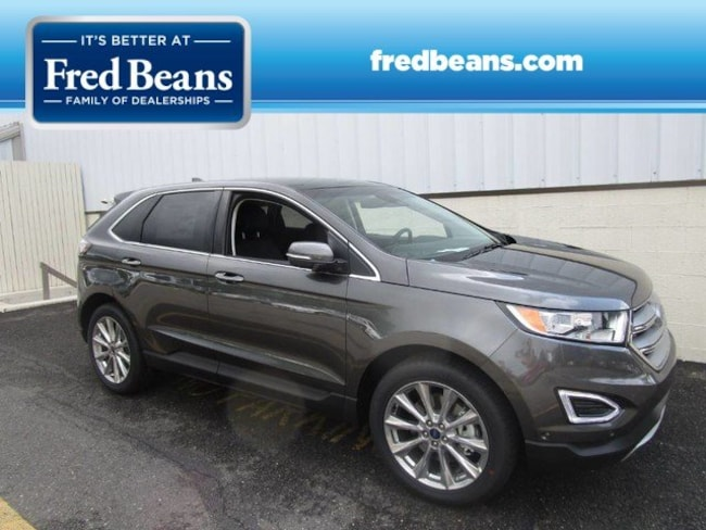 New 2018 Ford Edge Titanium SUV For Sale in Newtown, PA