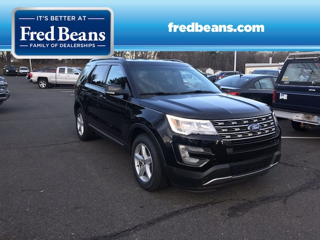 Certified Pre-Owned 2017 Ford Explorer XLT SUV For Sale in Newtown, PA