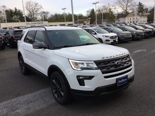 New 2019 Ford Explorer XLT SUV For Sale in Newtown, PA