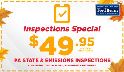PA Inspection Special