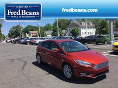 Certified Pre-Owned 2018 Ford Focus Titanium HATCHBACK N90024P in Newtown, PA