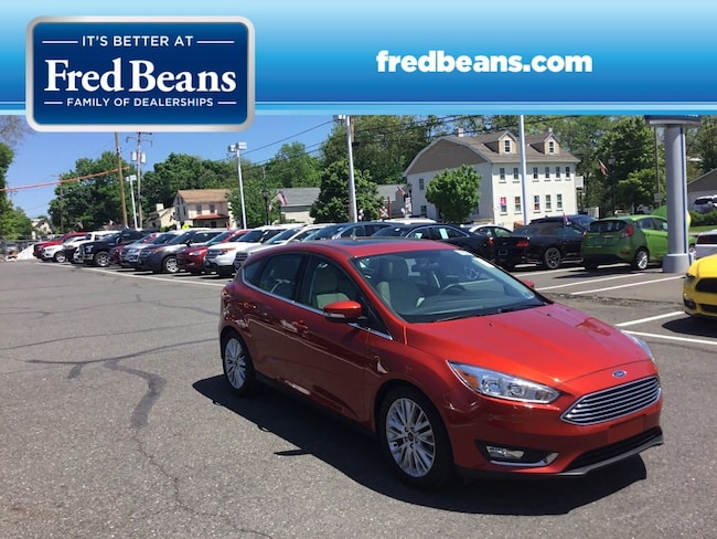 Certified Pre-Owned 2018 Ford Focus Titanium HATCHBACK For Sale in Newtown, PA