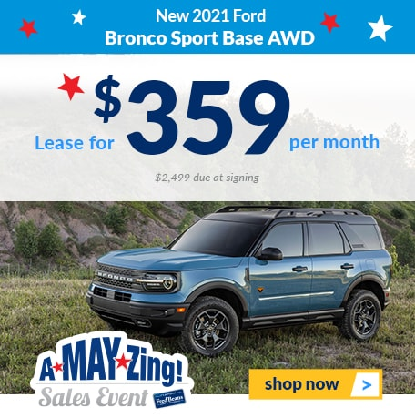 New 2021 Ford Bronco Sport Base 4x4