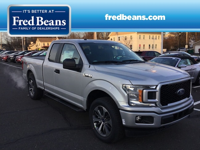 New 2019 Ford F-150 STX Truck SuperCab Styleside For Sale in Newtown, PA