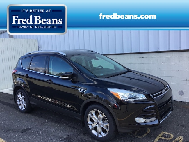 Certified Pre-Owned 2016 Ford Escape Titanium SUV For Sale in Newtown, PA