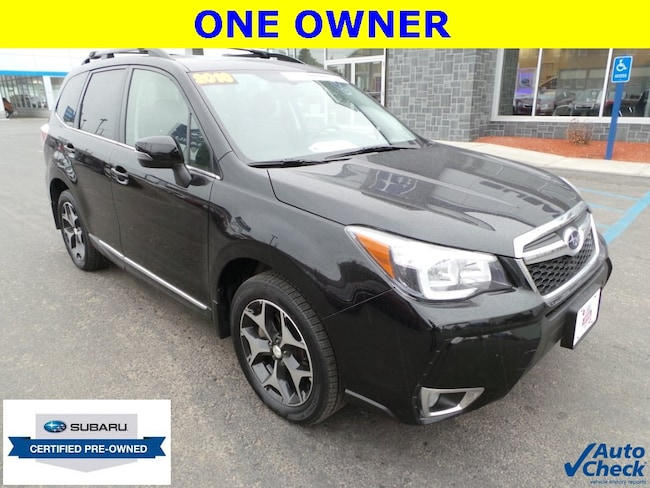 Certified Pre-Owned 2016 Subaru Forester 2.0XT Touring SUV Plattsburgh, NY