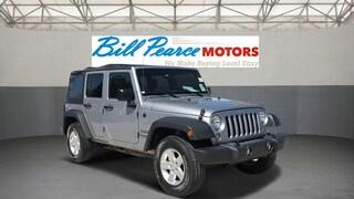 2016 Jeep Wrangler JK Unlimited Sport 4X4 SUV for Sale in Reno, NV at Bill Pearce Volvo Cars