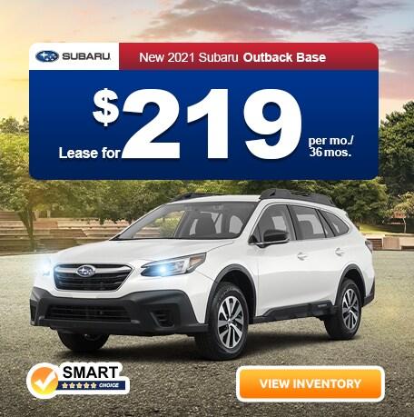 New 2021 Subaru Outback Base