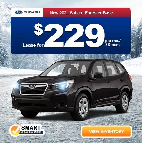 2021 Subaru Forester Base Trim Level
