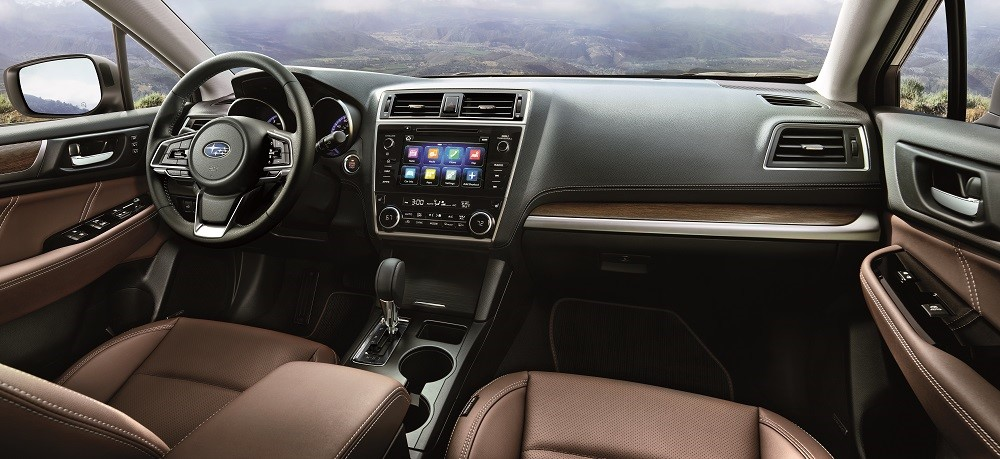 Inside Both Subaru ...