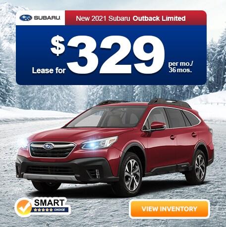 New 2021 Subaru Outback Limited