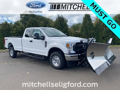 2020 Ford F-250 Long Bed w/ Fisher XV2 Stainless Steel Snow Plow - Trucks