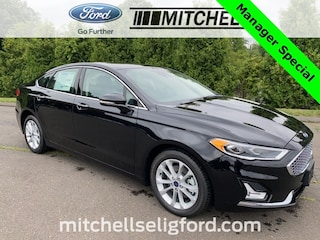 New 2020 Ford Fusion Energi Plug-in Hybrid Titanium Cars For Sale in Windsor, CT