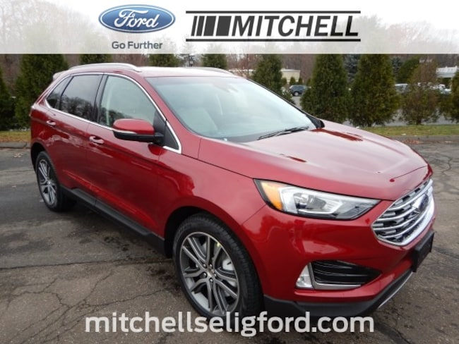 New 2019 Ford Edge Titanium SUV in CT