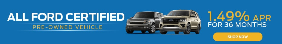 Ford CPO - 1.49% APR
