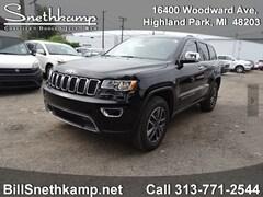 New 2019 Jeep Grand Cherokee Limited SUV in Redford, MI near Detroit